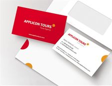 Visual Identity for travel agency -Applicon Tours