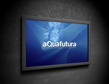 Aquafutura-logo and brand design