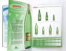 Product catalogue for one of the largest producers of spring water and beverages