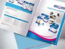 Product catalogue design and catalogue graphic preparation for print -Lola Ribar