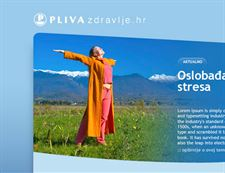 Healthcare portal for Pharmaceutical Giant -Pliva